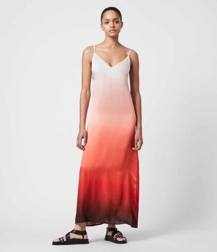 VINIA 印染長版連身裙