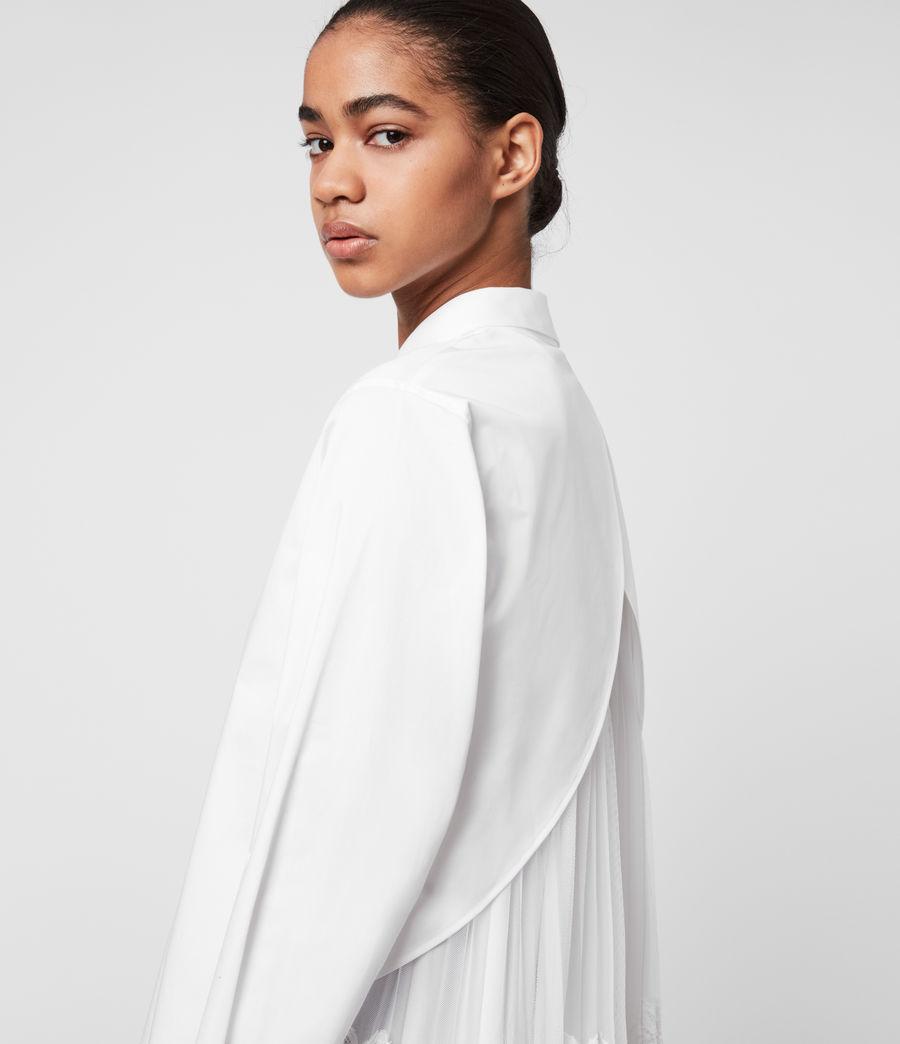 IRIS 素面長袖襯衫