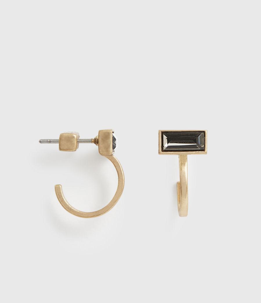NOA 方型針式耳環