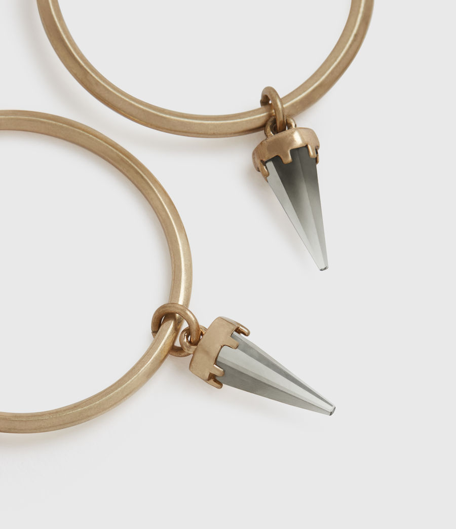 CHANTAL 造型針式耳環
